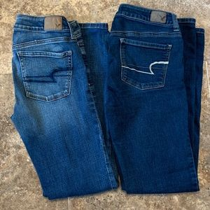 American Eagle Size 4 with 30 inch Inseam Skinny